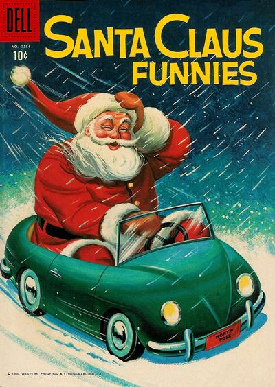 Cover for Four Color (Dell, 1942 series) #1154 - Santa Claus Funnies