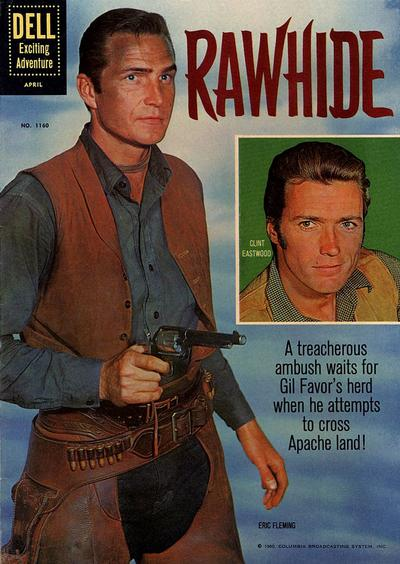 Cover for Four Color (Dell, 1942 series) #1160 - Rawhide