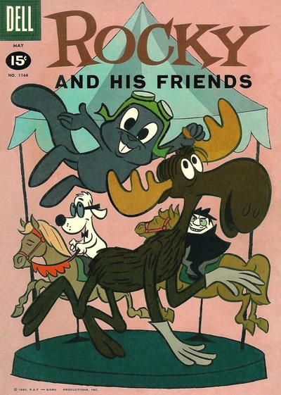 Cover for Four Color (Dell, 1942 series) #1166 - Rocky and His Friends