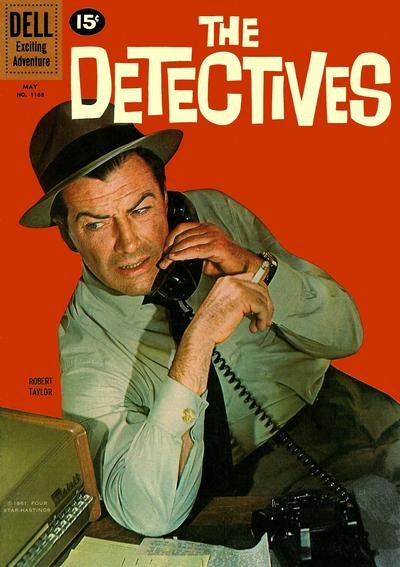 Cover for Four Color (Dell, 1942 series) #1168 - The Detectives