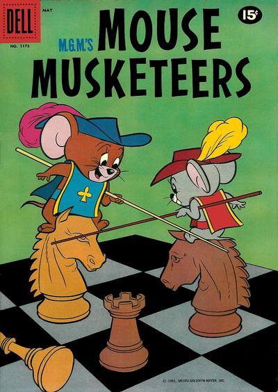 Cover for Four Color (Dell, 1942 series) #1175 - M.G.M.'s Mouse Musketeers