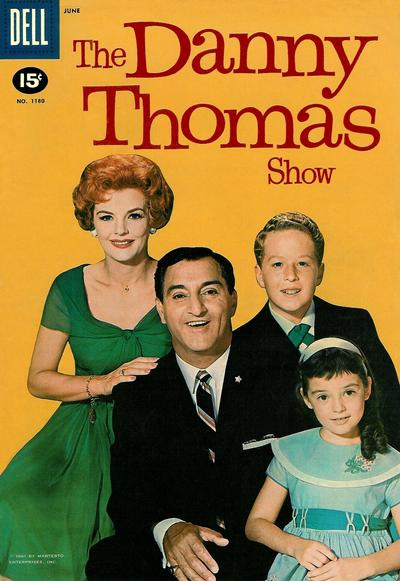Cover for Four Color (Dell, 1942 series) #1180 - The Danny Thomas Show