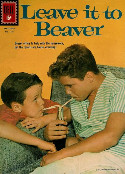 Cover for Four Color (Dell, 1942 series) #1191 - Leave It to Beaver