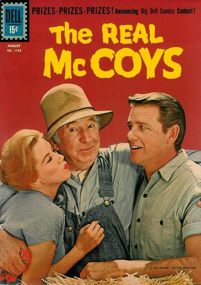 Cover for Four Color (Dell, 1942 series) #1193 - The Real McCoys [British]