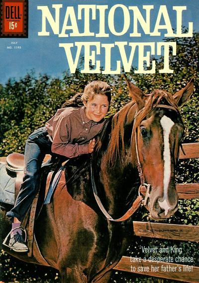 Cover for Four Color (Dell, 1942 series) #1195 - National Velvet