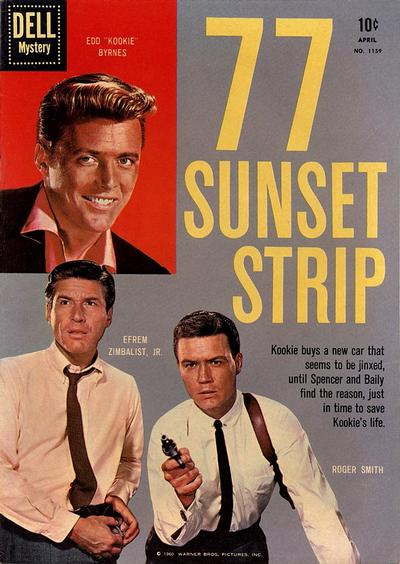 Cover for Four Color (Dell, 1942 series) #1159 - 77 Sunset Strip
