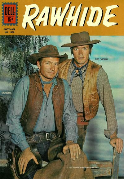 Cover for Four Color (Dell, 1942 series) #1202 - Rawhide