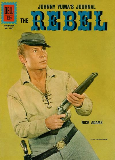 Cover for Four Color (Dell, 1942 series) #1207 - The Rebel