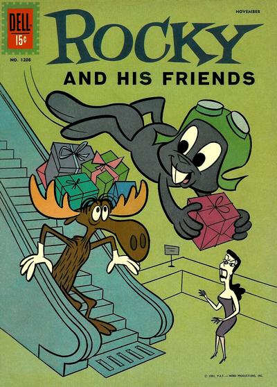 Cover for Four Color (Dell, 1942 series) #1208 - Rocky and His Friends