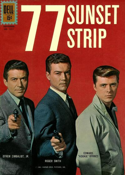 Cover for Four Color (Dell, 1942 series) #1211 - 77 Sunset Strip
