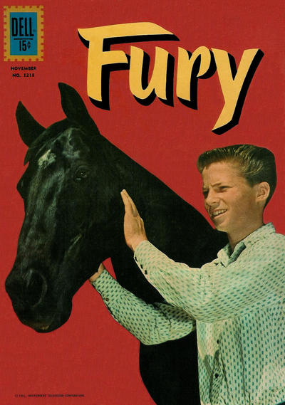 Cover for Four Color (Dell, 1942 series) #1218 - Fury