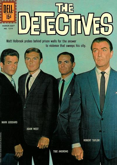 Cover for Four Color (Dell, 1942 series) #1219 - The Detectives