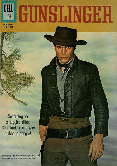 Cover for Four Color (Dell, 1942 series) #1220 - Gunslinger