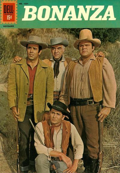 Cover for Four Color (Dell, 1942 series) #1221 - Bonanza