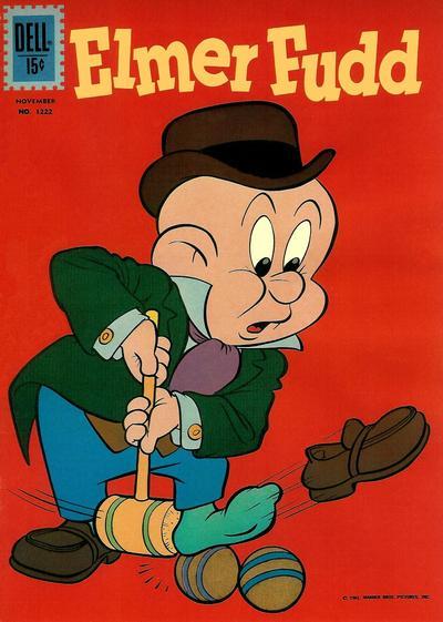 Cover for Four Color (Dell, 1942 series) #1222 - Elmer Fudd