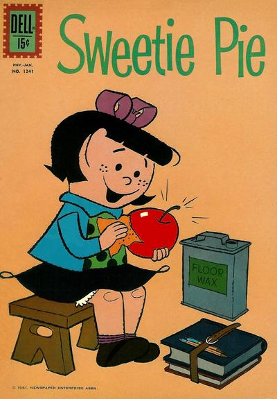 Cover for Four Color (Dell, 1942 series) #1241 - Sweetie Pie