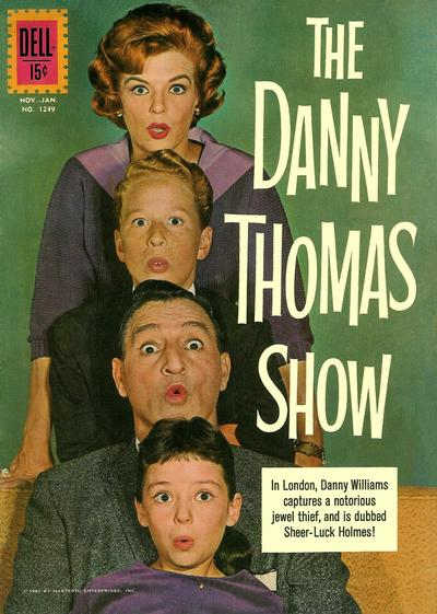 Cover for Four Color (Dell, 1942 series) #1249 - The Danny Thomas Show