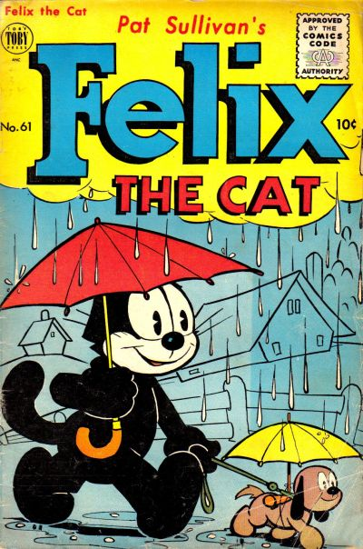 Cover for Felix the Cat (Toby, 1951 series) #61