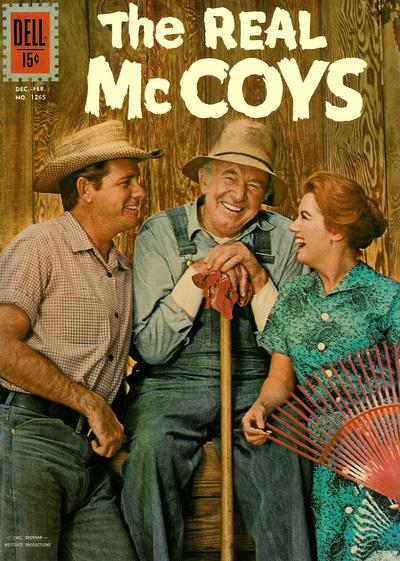 Cover for Four Color (Dell, 1942 series) #1265 - The Real McCoys