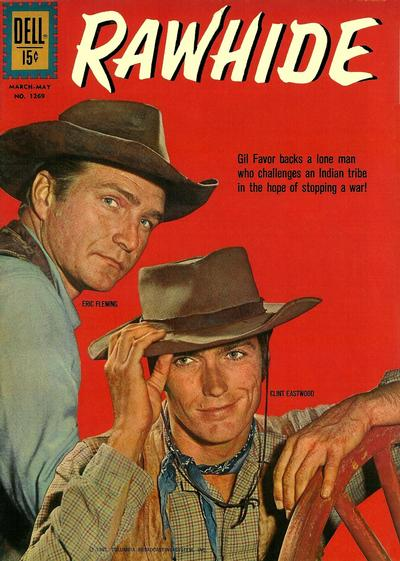 Cover for Four Color (Dell, 1942 series) #1269 - Rawhide
