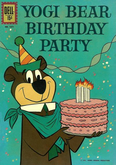 Cover for Four Color (Dell, 1942 series) #1271 - Yogi Bear Birthday Party