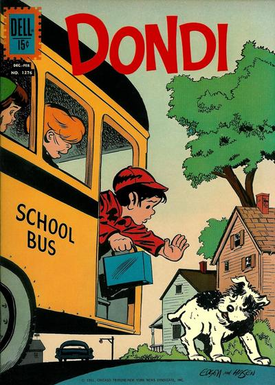 Cover for Four Color (Dell, 1942 series) #1276 - Dondi