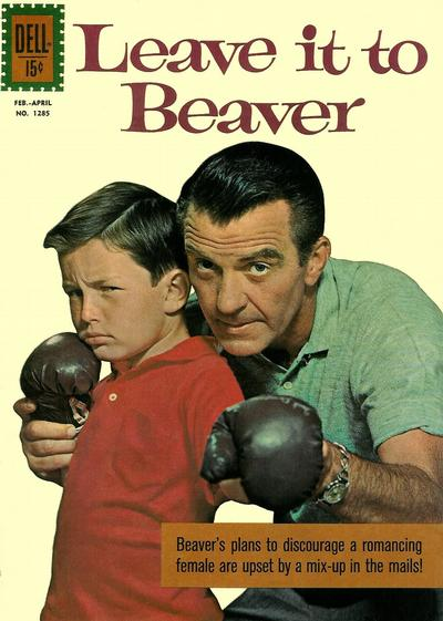 Cover for Four Color (Dell, 1942 series) #1285 - Leave It to Beaver