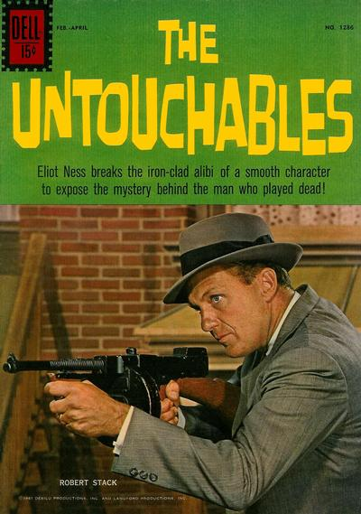 Cover for Four Color (Dell, 1942 series) #1286 - The Untouchables