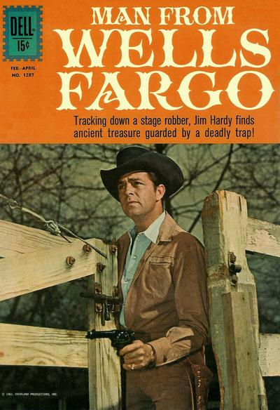 Cover for Four Color (Dell, 1942 series) #1287 - Man from Wells Fargo