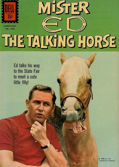 Cover for Four Color (Dell, 1942 series) #1295 - Mister Ed, the Talking Horse