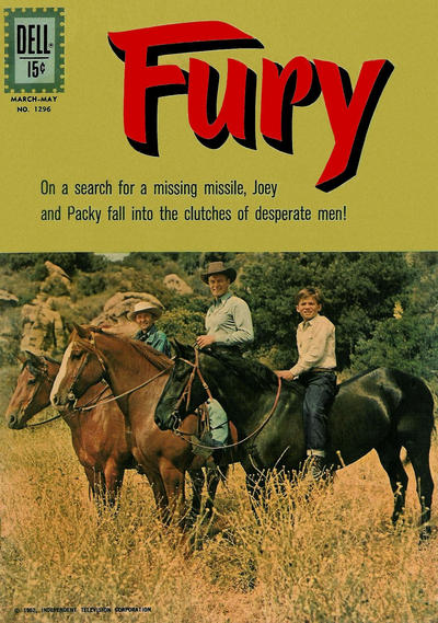Cover for Four Color (Dell, 1942 series) #1296 - Fury