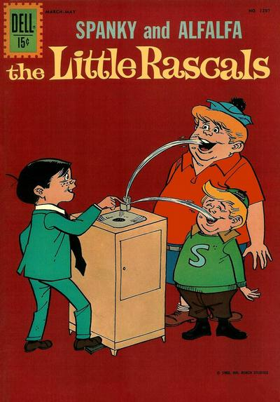 Cover for Four Color (Dell, 1942 series) #1297 - The Little Rascals