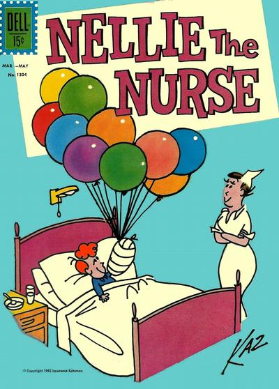 Cover for Four Color (Dell, 1942 series) #1304 - Nellie the Nurse
