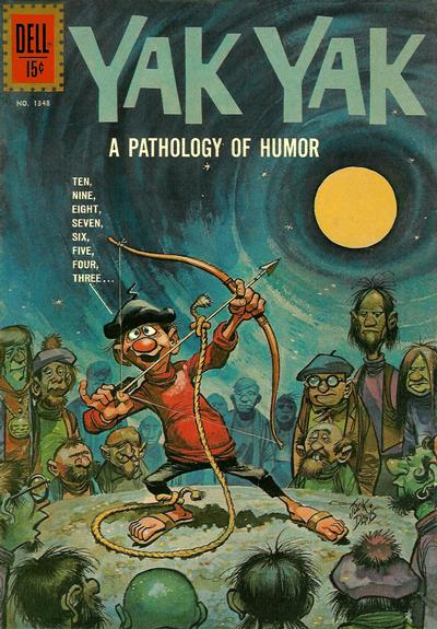 Cover for Four Color (Dell, 1942 series) #1348 - Yak Yak