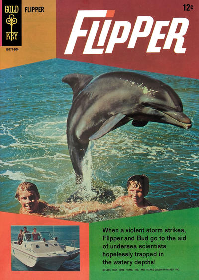 Cover for Flipper (Western, 1966 series) #1