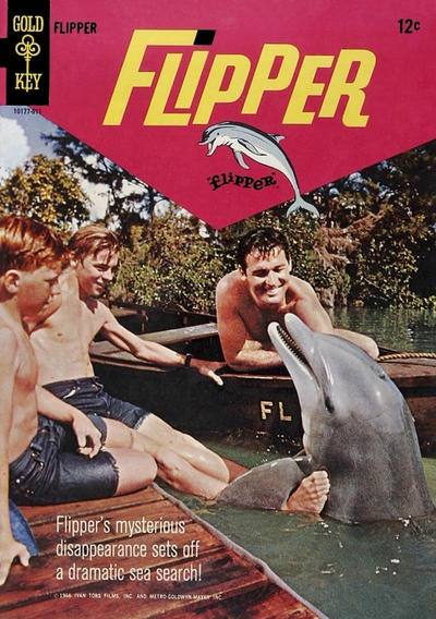 Cover for Flipper (Western, 1966 series) #2