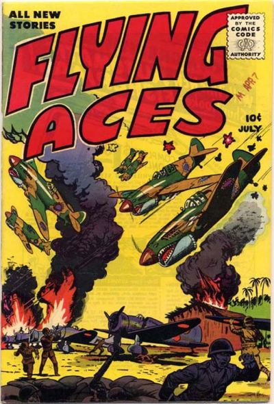 Cover for Flying Aces (Stanley Morse, 1955 series) #1