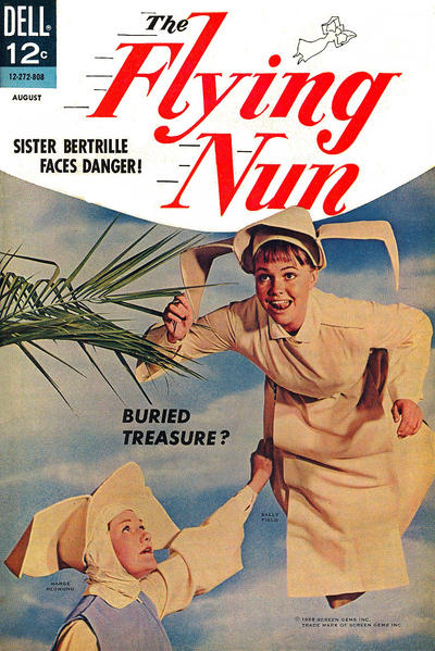 Cover for The Flying Nun (Dell, 1968 series) #3