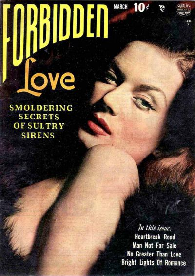 Cover for Forbidden Love (Quality Comics, 1950 series) #1