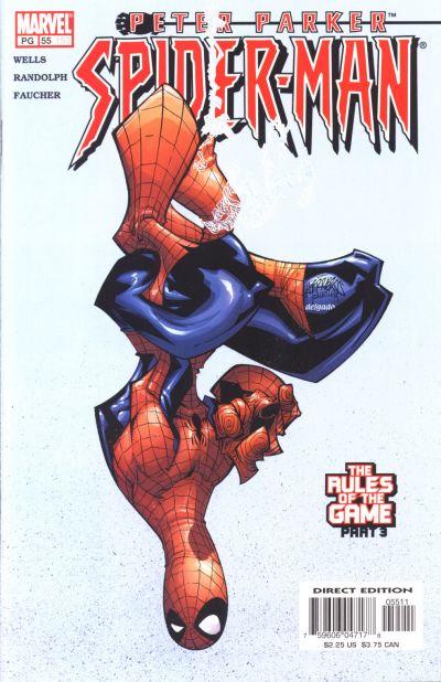 Cover for Peter Parker: Spider-Man (Marvel, 1999 series) #55 (153)