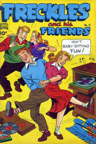 Cover for Freckles (Pines, 1947 series) #11