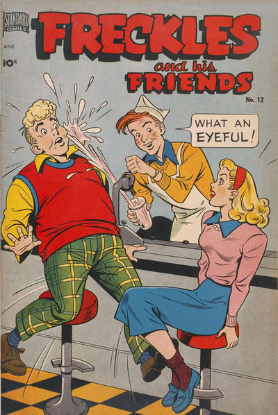 Cover for Freckles (Pines, 1947 series) #12