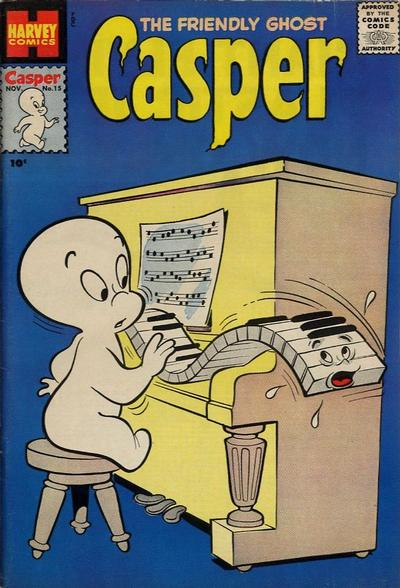 Cover for The Friendly Ghost, Casper (Harvey, 1958 series) #15