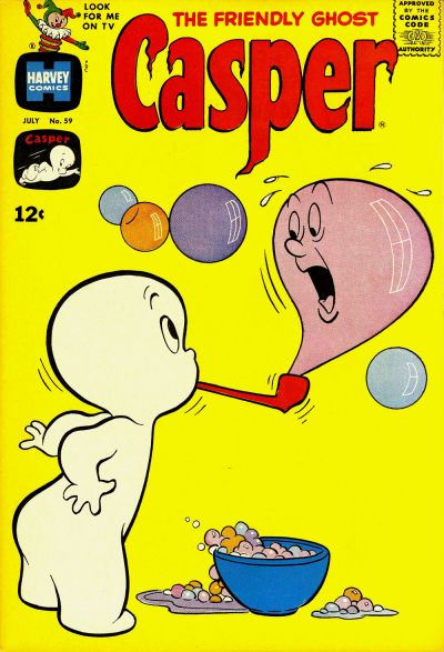 Cover for The Friendly Ghost, Casper (Harvey, 1958 series) #59