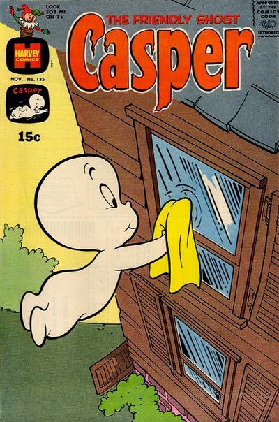 Cover for The Friendly Ghost, Casper (Harvey, 1958 series) #135