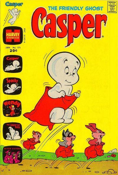 Cover for The Friendly Ghost, Casper (Harvey, 1958 series) #171