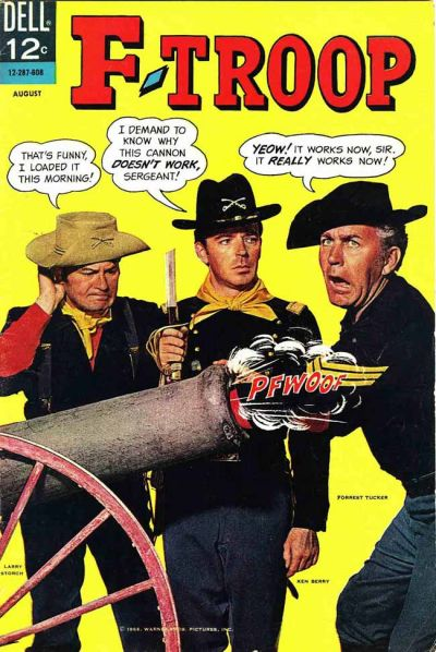 Cover for F-Troop (Dell, 1966 series) #1