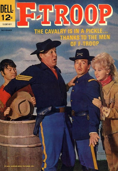 Cover for F-Troop (Dell, 1966 series) #2