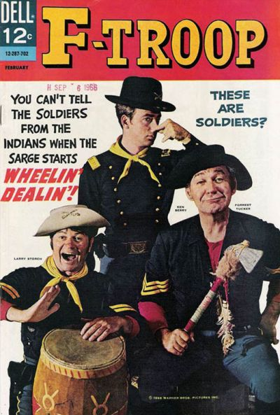 Cover for F-Troop (Dell, 1966 series) #3