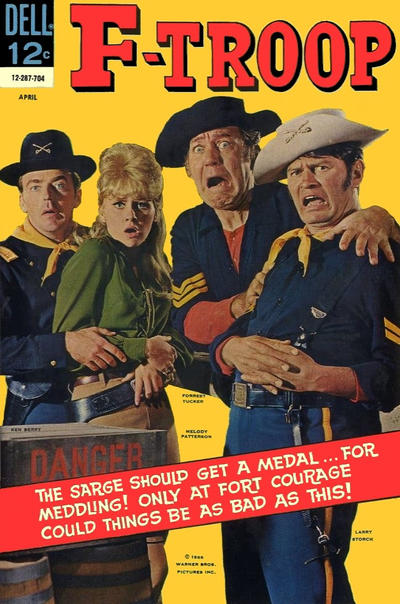 Cover for F-Troop (Dell, 1966 series) #4